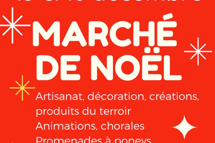 Kébologo présente l'affiche du marché de Noël 2018 dans le château de Gordes, Vaucluse. Stand de T-shirt design Kébologo sur place.
