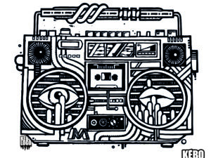 design ghettoblaster
