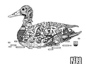 Le design duck, le canard