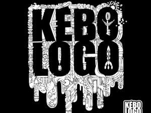 T-shirt black noir nouveau logo kebologo