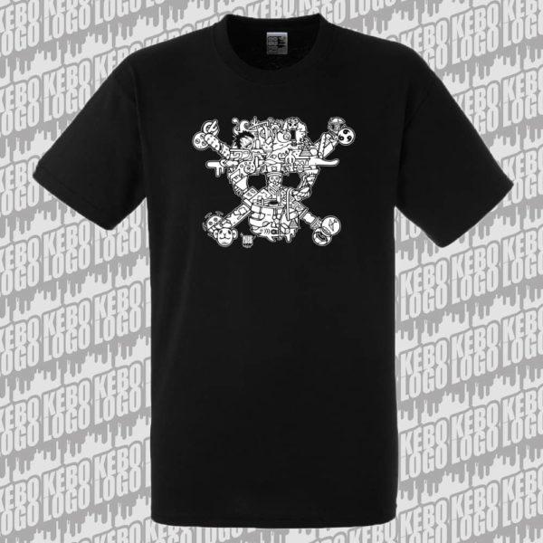 T-shirt-noir-onepiece