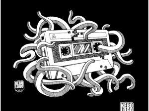 Cassette vintage lost tape